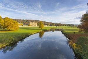 Chatsworth House, Peak District National Park, Derbyshire, England, United Kingdom, Europe by Frank Fell
