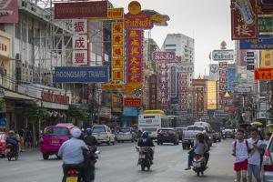 Chinatown, Bangkok, Thailand, Southeast Asia, Asia by Frank Fell