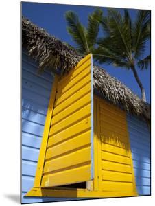 Colourful Hut, Bavaro Beach, Punta Cana, Dominican Republic, West Indies, Caribbean, Central Americ by Frank Fell