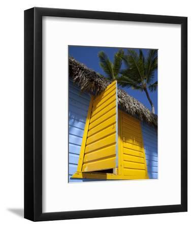 Colourful Hut, Bavaro Beach, Punta Cana, Dominican Republic, West Indies, Caribbean, Central Americ