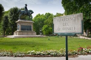 Giardino Del Quirinale Park, Rome, Lazio, Italy, Europe by Frank Fell