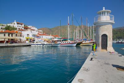 Harbour, Marmaris, Anatolia, Turkey, Asia Minor, Eurasia by Frank Fell