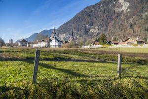 Interlaken, Jungfrau region, Bernese Oberland, Swiss Alps, Switzerland, Europe by Frank Fell
