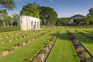 Kanchanaburi War Cemetery, Bangkok, Thailand, Southeast Asia, Asia by Frank Fell
