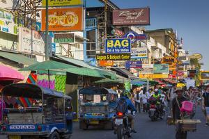 Khao San Road, Bangkok, Thailand, Southeast Asia, Asia by Frank Fell