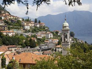Lakeside Village, Lake Como, Lombardy, Italian Lakes, Italy, Europe by Frank Fell