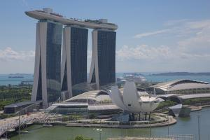 Marina Bay Sands Hotel, Singapore, Southeast Asia by Frank Fell