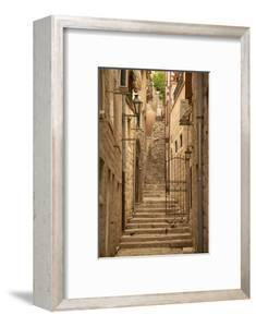 Narrow Street, Old Town, Kotor, UNESCO World Heritage Site, Montenegro, Europe by Frank Fell