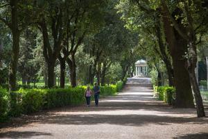 Park Borghese, Rome, Lazio, Italy, Europe by Frank Fell