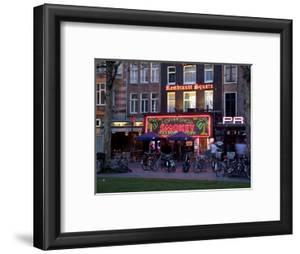 Rembrandtplein at Dusk, Amsterdam, Holland, Europe by Frank Fell