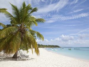 Saona Island, Dominican Republic, West Indies, Caribbean, Central America by Frank Fell