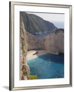 Shipwreck Bay, Zakynthos, Ionian Islands, Greek Islands, Greece, Europe by Frank Fell
