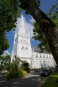 St Andrew's Cathedral, Singapore, Southeast Asia by Frank Fell