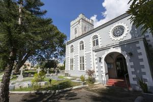 St. Mary's Church, Bridgetown, St. Michael, Barbados, West Indies, Caribbean, Central America by Frank Fell