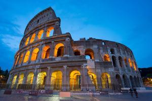 The Colosseum, UNESCO World Heritage Site, Rome, Lazio, Italy, Europe by Frank Fell