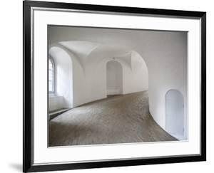 The Round Tower Interior, Copenhagen, Denmark, Scandinavia, Europe by Frank Fell