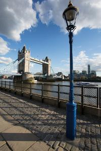 Tower Bridge and River Thames, London, England, United Kingdom, Europe by Frank Fell