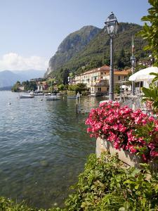 Town and Lakeside, Menaggio, Lake Como, Lombardy, Italian Lakes, Italy, Europe by Frank Fell