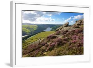 View from Derwent Edge, Peak District National Park, Derbyshire, England, United Kingdom, Europe by Frank Fell