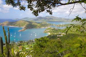 View of English Harbour from Shirley Heights by Frank Fell