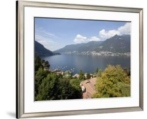 View of Lake Como, Lombardy, Italian Lakes, Italy, Europe by Frank Fell