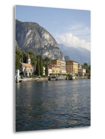 View of the Town of Cadenabbia from Ferry, Lake Como, Lombardy, Italian Lakes, Italy, Europe