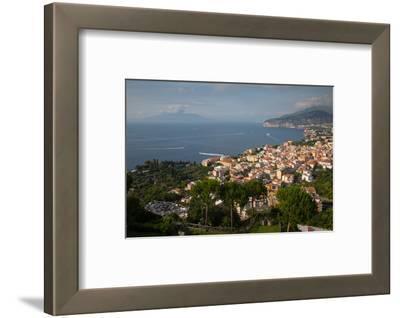 View of Vesuvio and Terrheinian Sea from Above Sorrento, Costiera Amalfitana (Amalfi Coast)