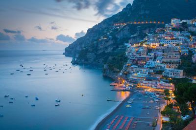 View over Positano, Costiera Amalfitana (Amalfi Coast), UNESCO World Heritage Site