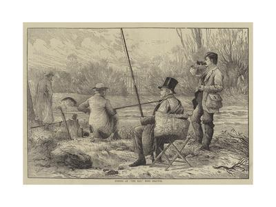 Fishing at The Bay, West Drayton