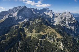 Alpspitze, Germany, Garmisch-Partenkirchen, Bavarian Oberland Region, Osterfelder Region by Frank Fleischmann