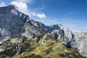 Alpspitze, Zugspitze, Osterfelders, Summit Station, Garmisch-Partenkirchen by Frank Fleischmann