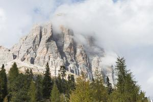 Dolomites, Italy, Region of Cortina Falzarego, Tofana by Frank Fleischmann