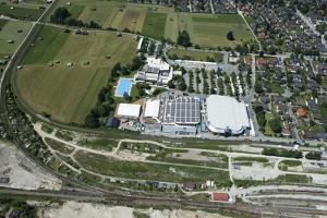 G7 Summit 2015 on Castle Elmau, Garmisch-Partenkirchen, Olympic Ice Sports Centre by Frank Fleischmann