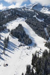 Garmisch-Partenkirchen, Hausberg, Kreuzwankl, Kreuzwanklbahn, Ski Slope by Frank Fleischmann