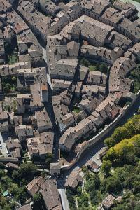 Gubbio, Historical Town, Town Centre, Church, Umbria by Frank Fleischmann