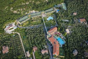 Hotel Majestic Palace, Malcesine, Lake Garda, Aerial Picture, Veneto, Italy by Frank Fleischmann