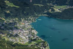 St. Gilgen, Wolfgangsee, Austria, Salzburg State, Salzkammergut by Frank Fleischmann