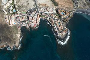 Tenerife, La Caleta, Aerial Picture, Beach, the Atlantic by Frank Fleischmann