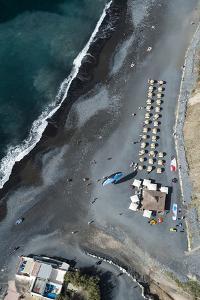 Tenerife, La Caleta, Playa De La Enramada, Beach Bar, Beach by Frank Fleischmann