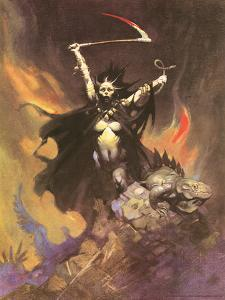 Banshee by Frank Frazetta