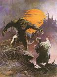 Apparition (cover art for Brak the Barbarian vs. the Sorceress)-Frank Frazetta-Art Print