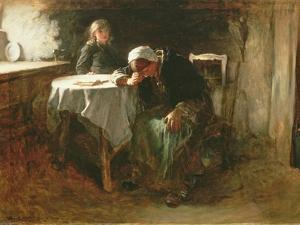 Despair, 1881 by Frank Holl
