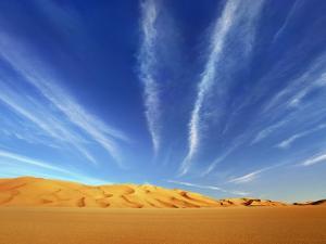 Dunes in the Murzuq Desert by Frank Krahmer