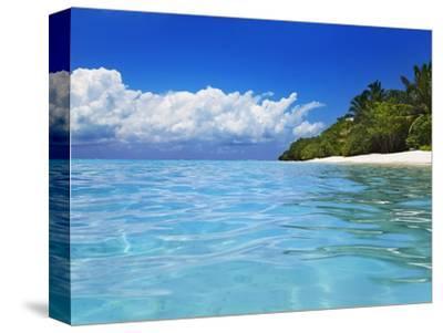 Lagoon at Soneva Fushi Resort in the Baa Atoll