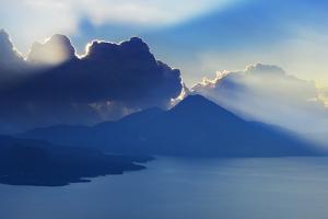 Lake Atitlan Scenic by Frank Krahmer