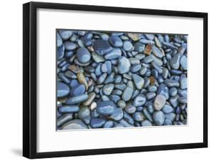 Pebbles on Beach by Frank Krahmer