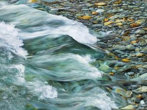 Rocks and waters of Verzasca River by Frank Krahmer