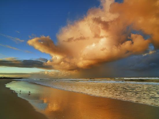 frank-krahmer-sunset-on-the-ocean-new-south-wales-australia