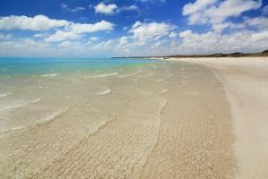 Tropical Lagoon Sandy Bay by Frank Krahmer