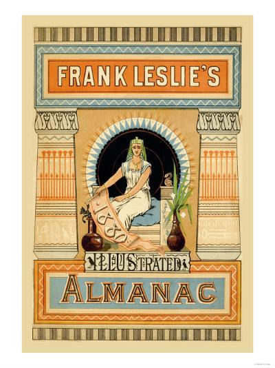 Frank Leslie's Illustrated Almanac: Egypt, 1880--Art Print